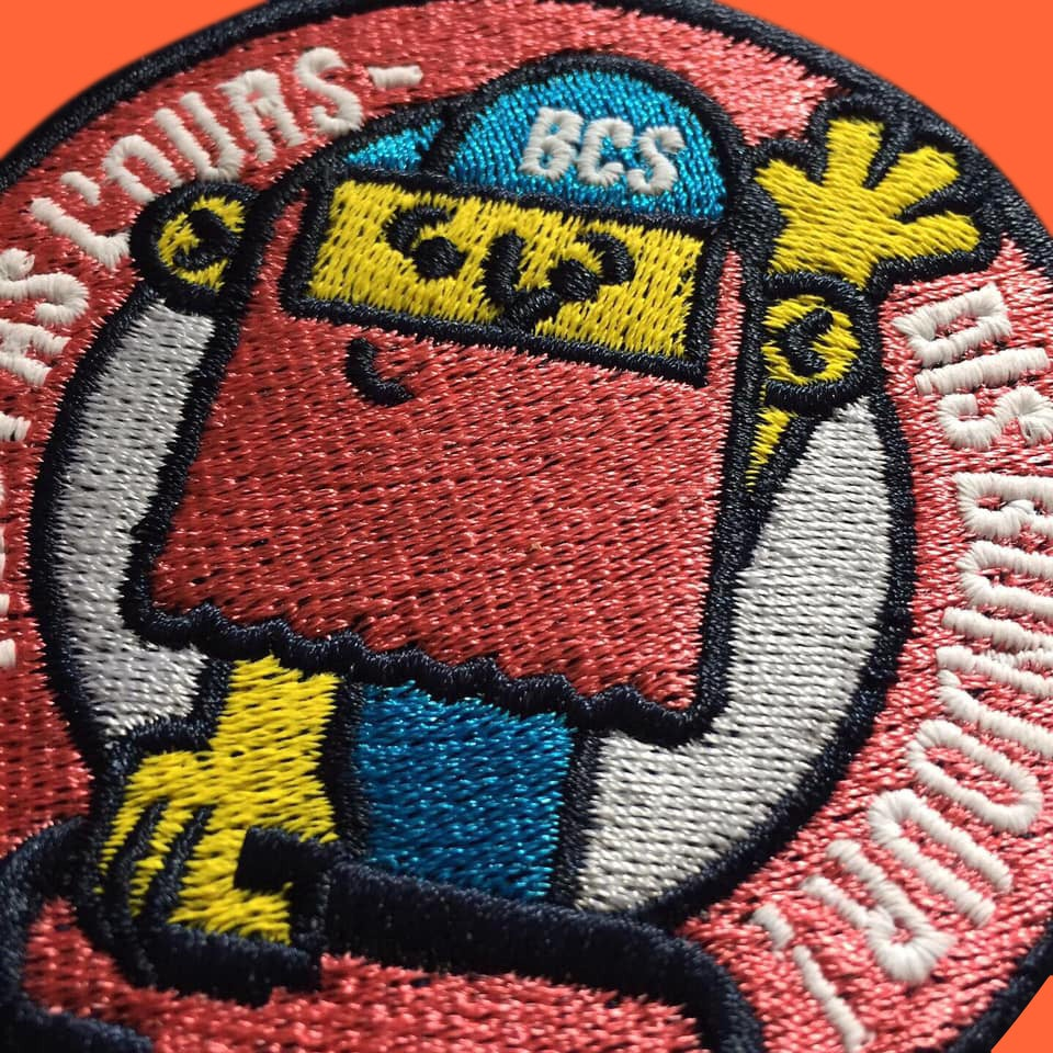 Image of Fais pas l'ours Patch