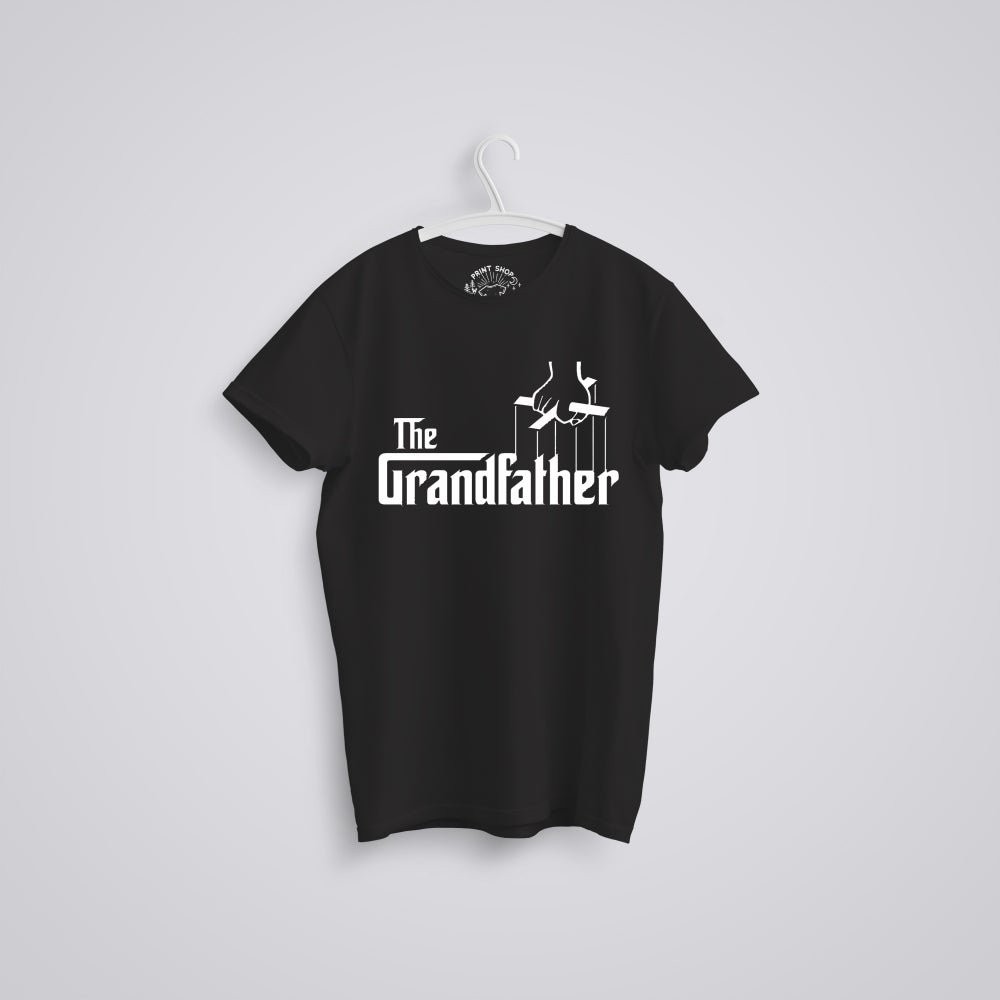 Image of The Grandfather Godfather Father's Day Organic T-Shirt