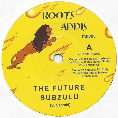 SUBZULU ‎– THE FUTURE / ROOTS ADDIS MUZIK ‎– RAM702 - 7""