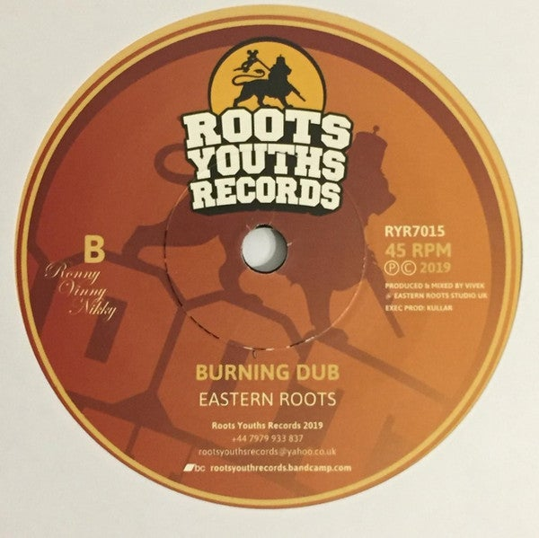 """EASTERN ROOTS – FYAH / ROOTS YOUTHS RECORDS – RYR7015 - 7"""""""