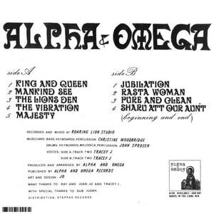 "ALPHA & OMEGA – KING & QUEEN LP (RP) ALPHA & OMEGA RECORDS – A&O009-R - 12"" LP"