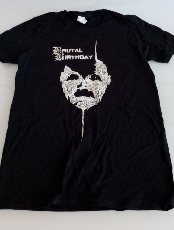 Brutal Birthday - Commotion (Black) T-shirt
