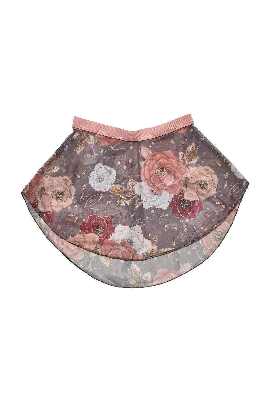 Image of BALANCHINE skirt - Pattern Mesh