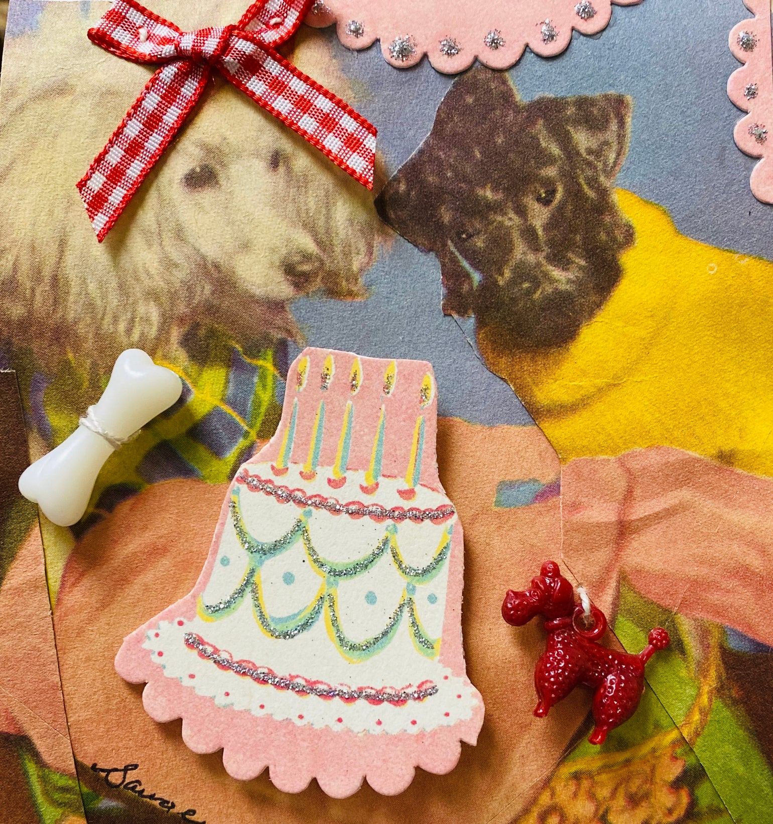 Image of poodle birthday