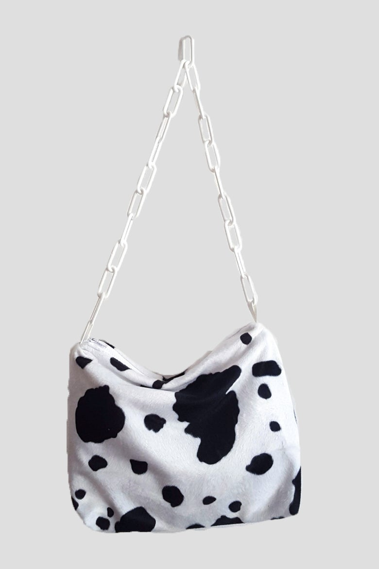 Image of classical cow purse