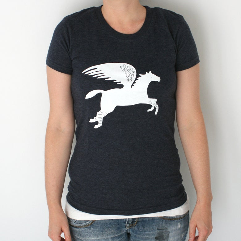 Image of Pegasus Tee - Women's Screen Printed T-Shirt