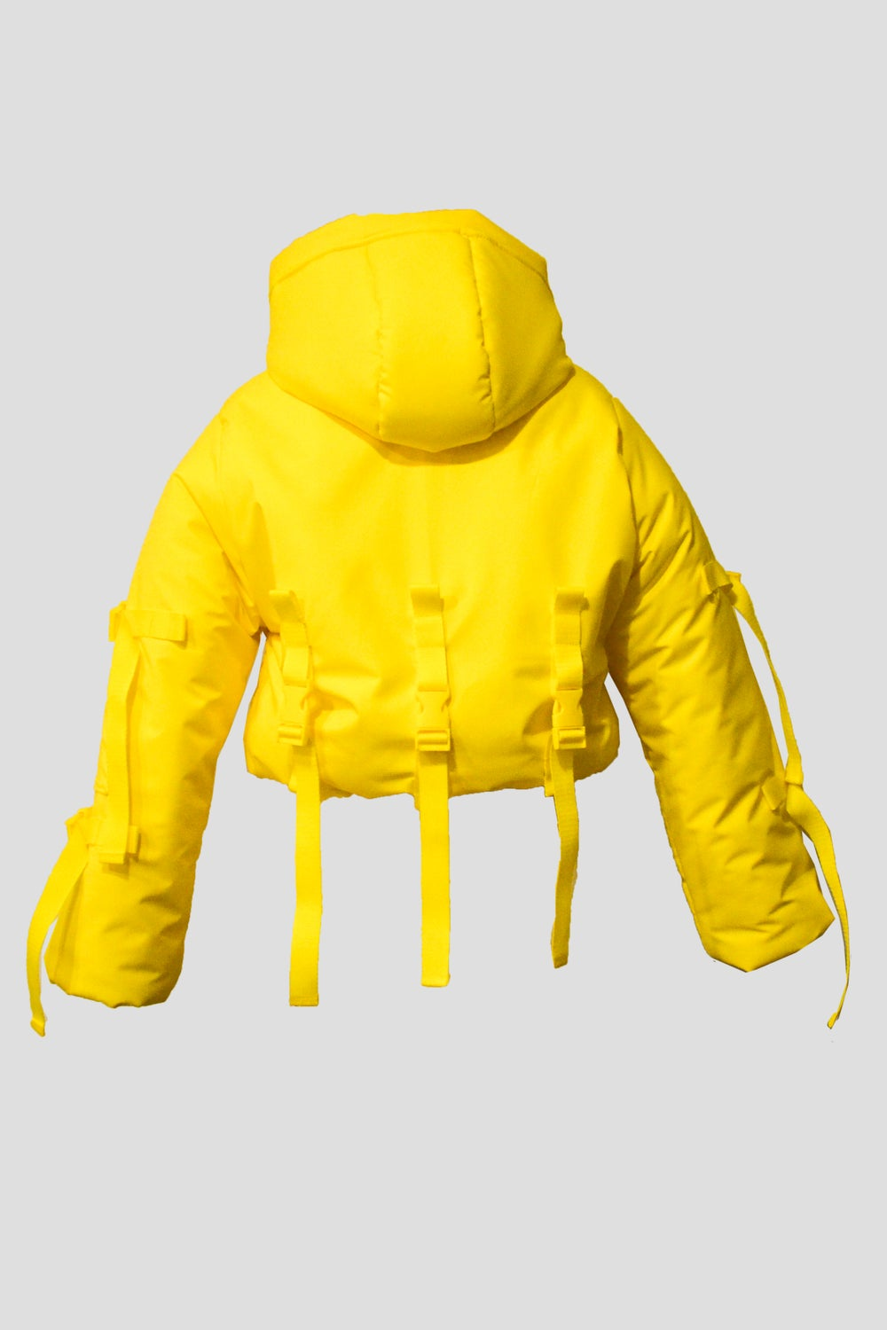 Image of Yellow Puffer Jacket