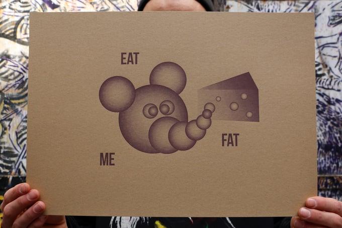 "Image of Big Dumb Burger ""Eat Me Fat"" (selfisz)"