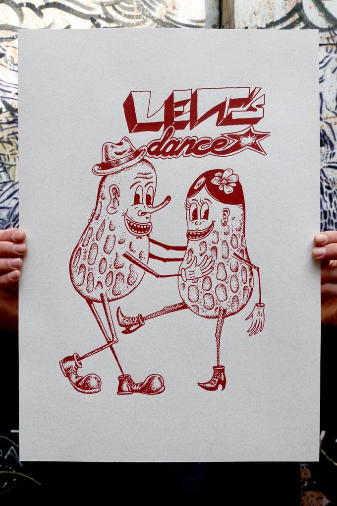 """Image of Leszek BTS """"Let's Dance"""" (selfisz)"""
