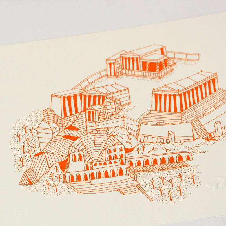 Image of Acropolis - Original Screen Print