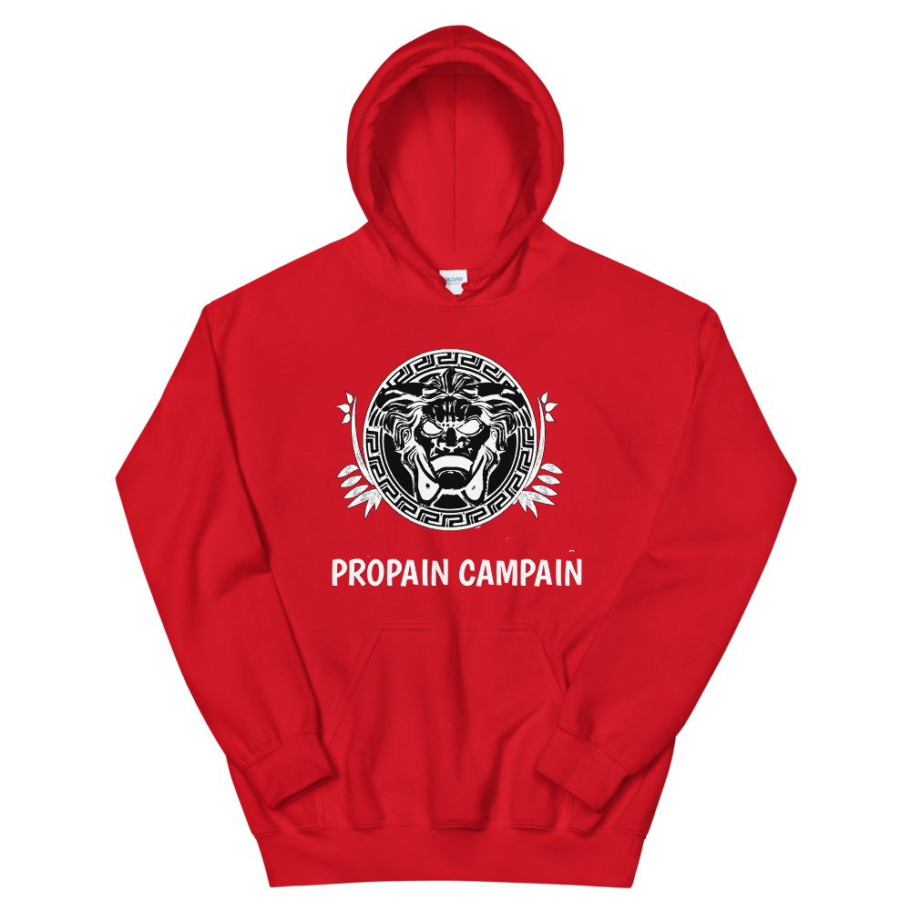 Image of PROPAIN CAMPAIN HOODIE FRONT DESIGN