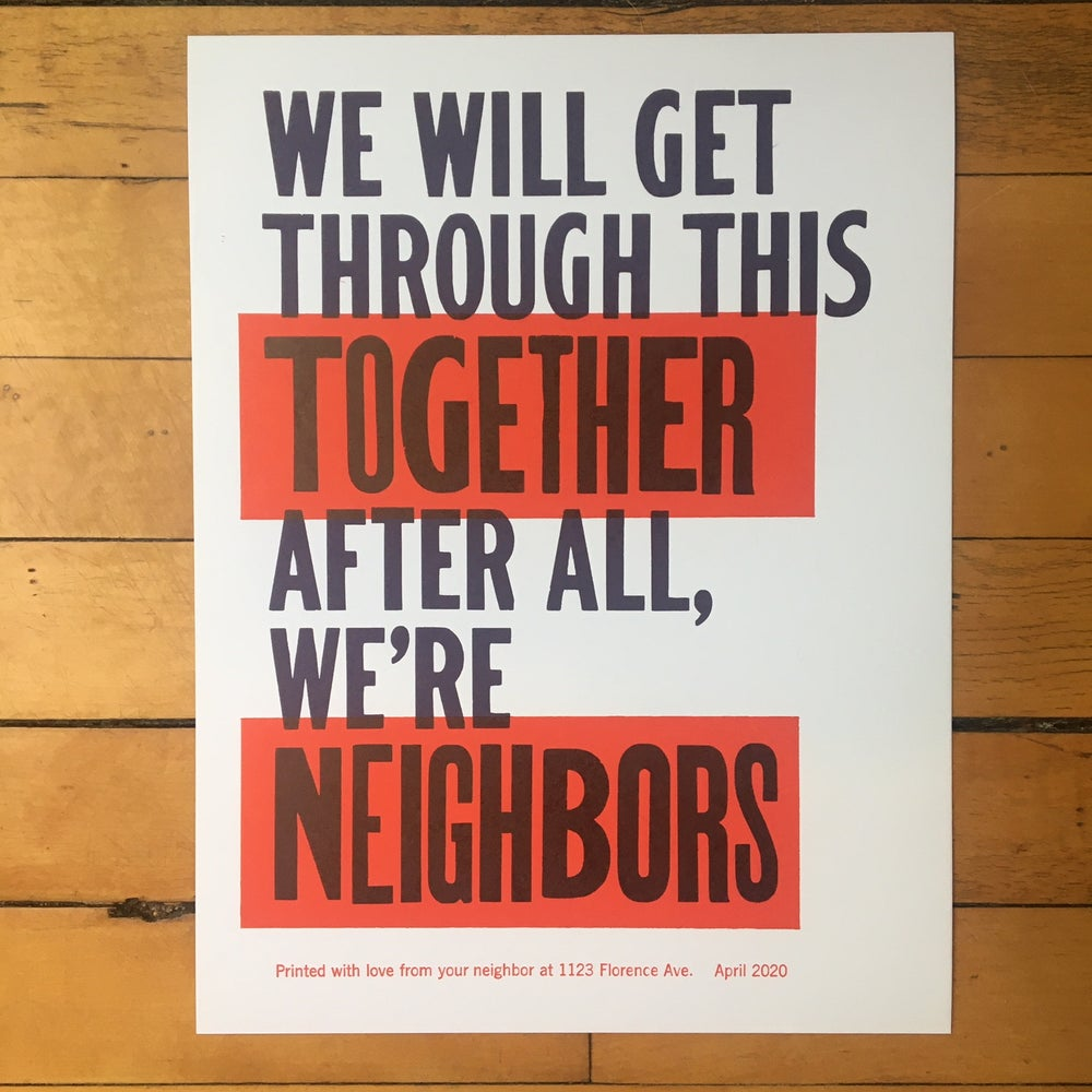 Image of We're Neighbors