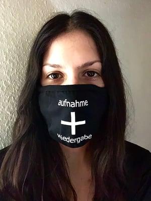 Image of aufnahme + wiedergabe Face Masks