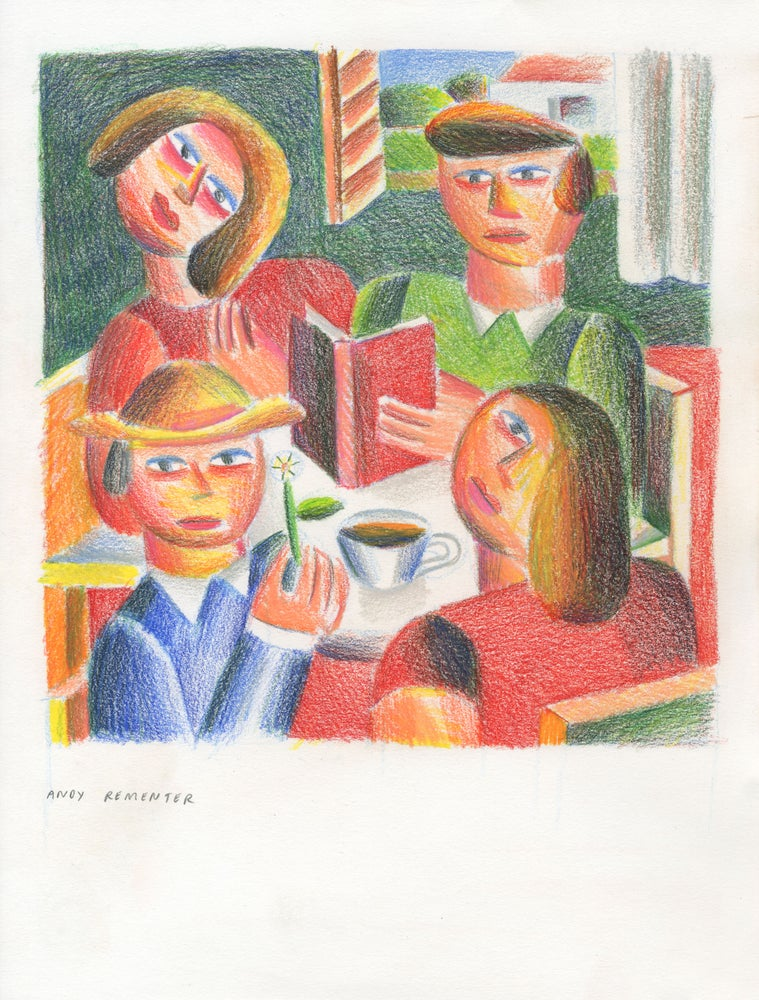 Image of Andy Rementer - Book Club