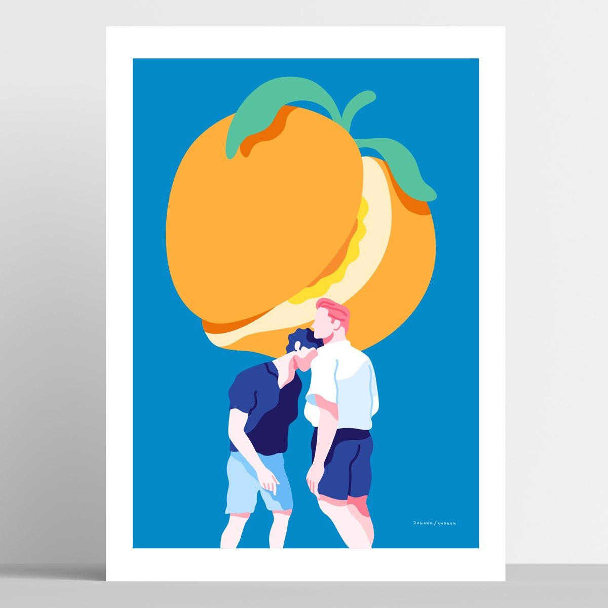 Call me by your Name - Elio & Oliver - Artprint
