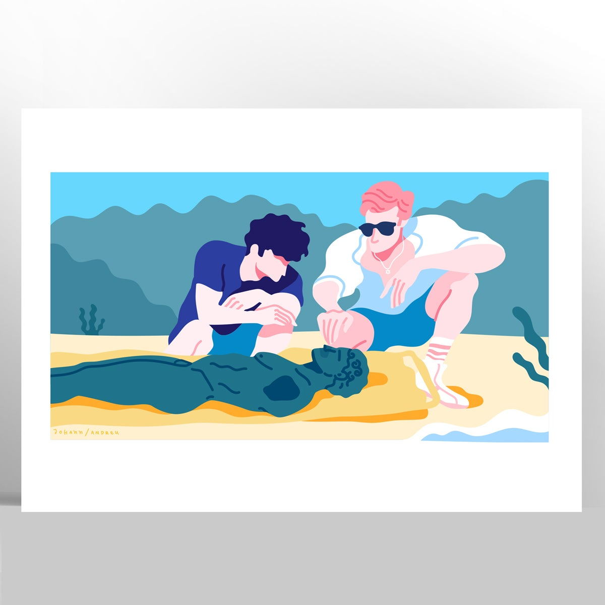 Call me by your Name - Scene 02 - Artprint