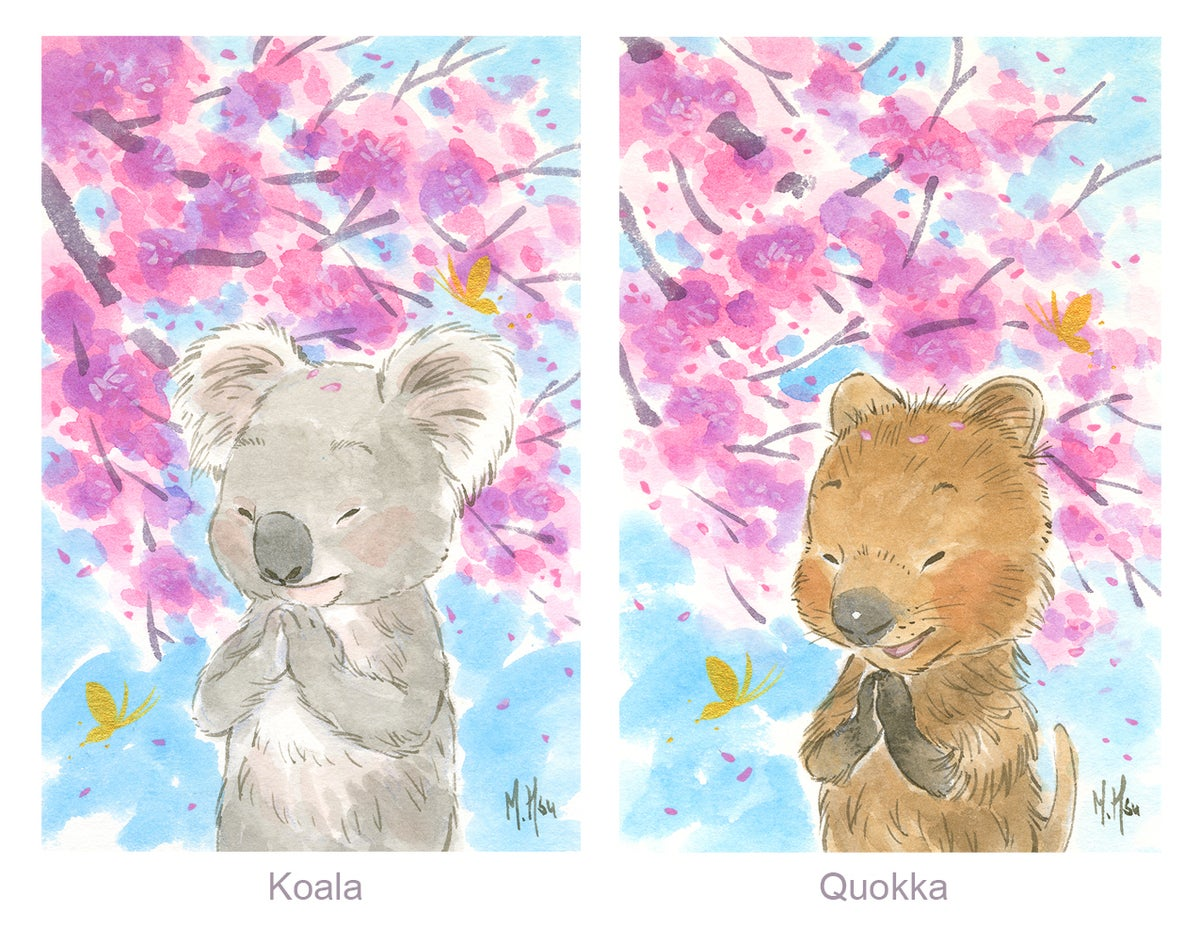 "Sakura Wishes 2020 - 11 x 14"" Prints"