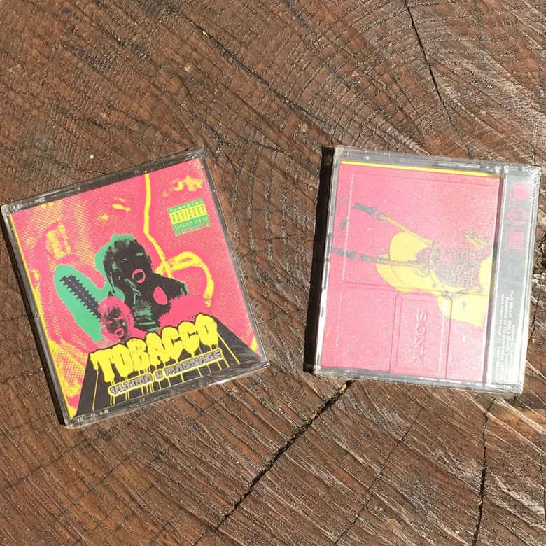 "Image of TOBACCO ""Ultima II Massage"" MiniDisc"