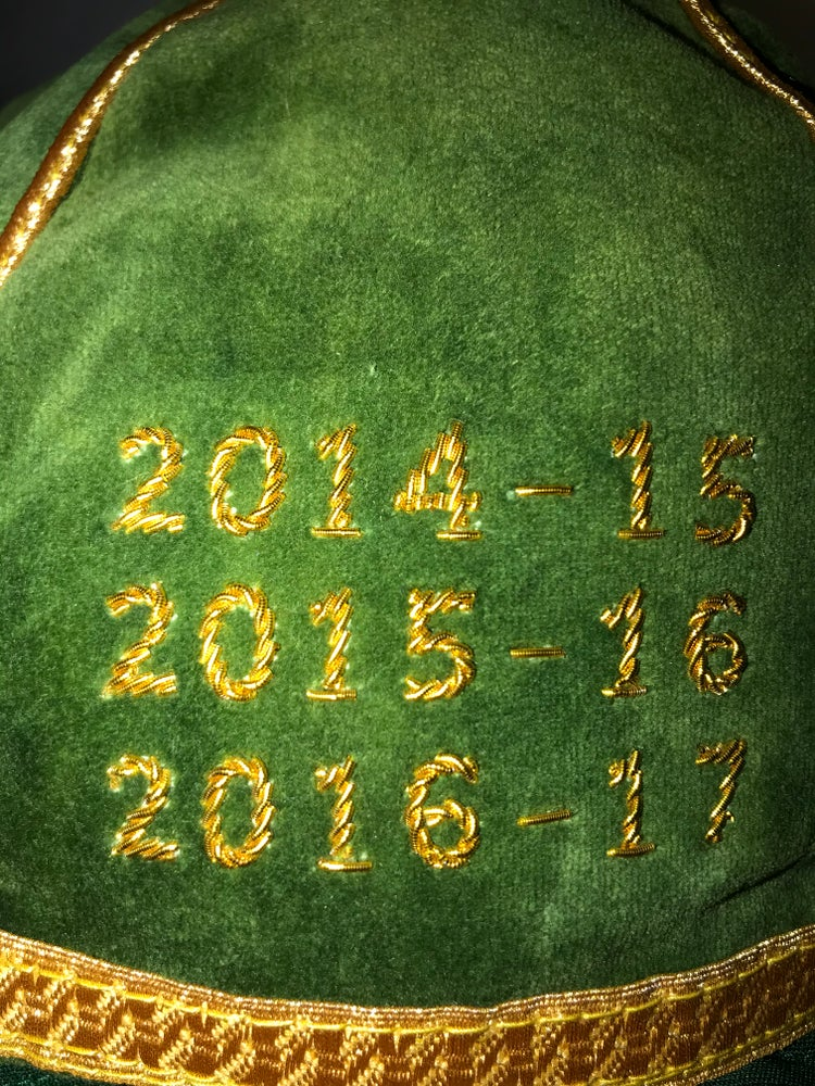 Image of Celtic 9 in a row commemorative cap