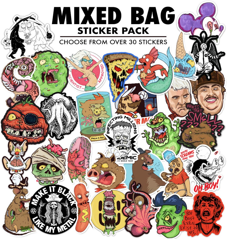 Image of MIXED BAG Sticker Pack
