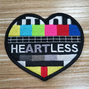Gzy Ex Silesia - heARTless - Embroidered Patch