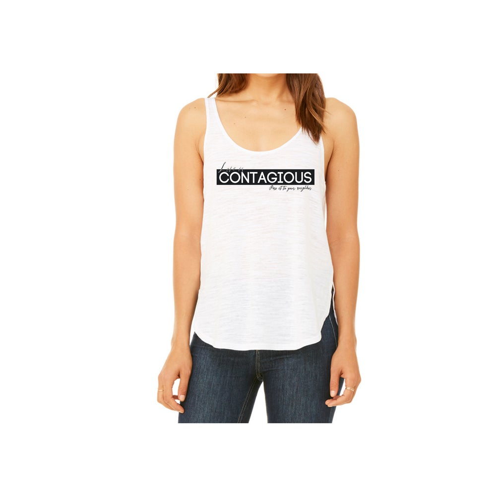 Image of Love Is Contagious Women's Tank Top