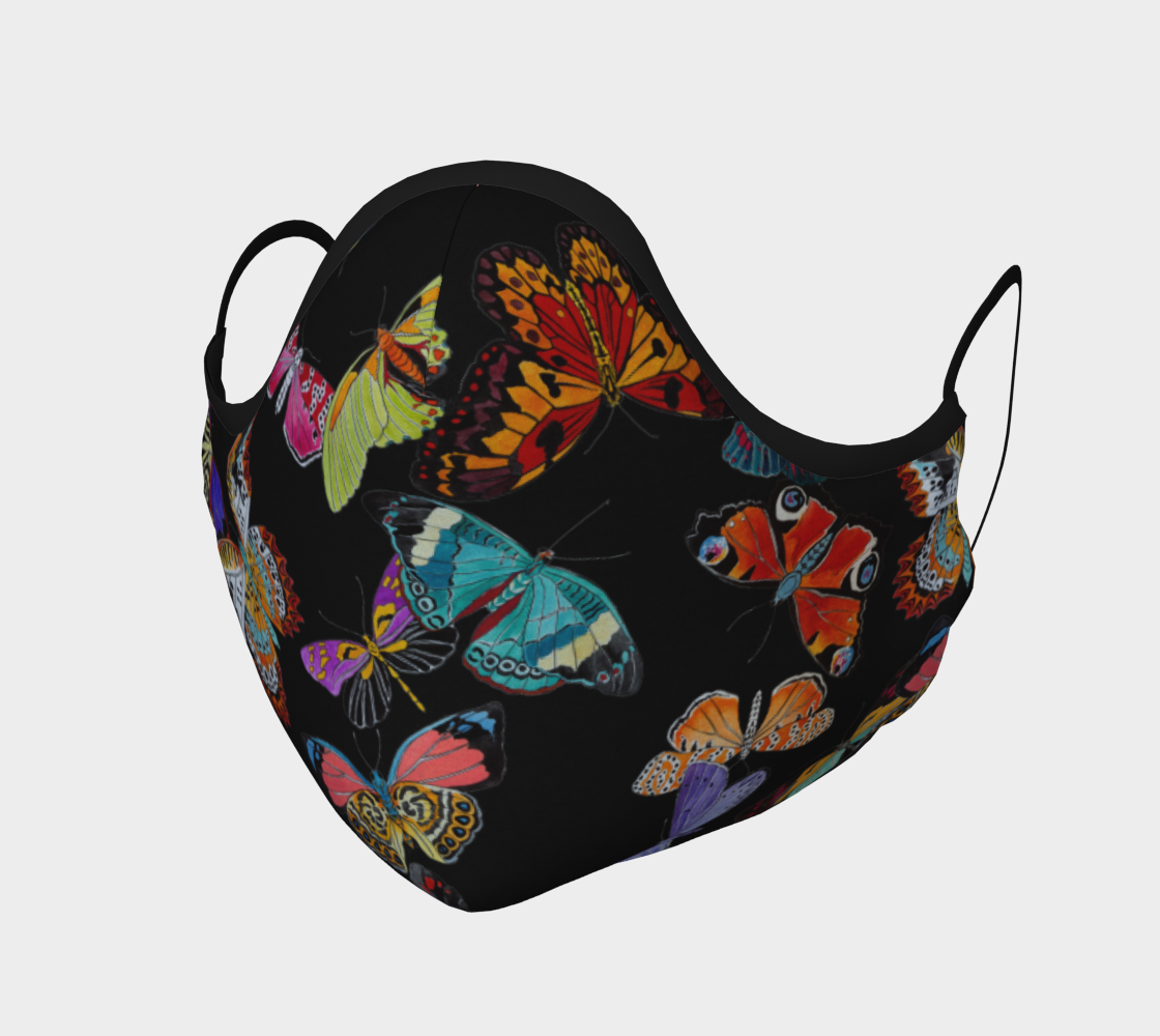 Image of Butterfly Face Mask