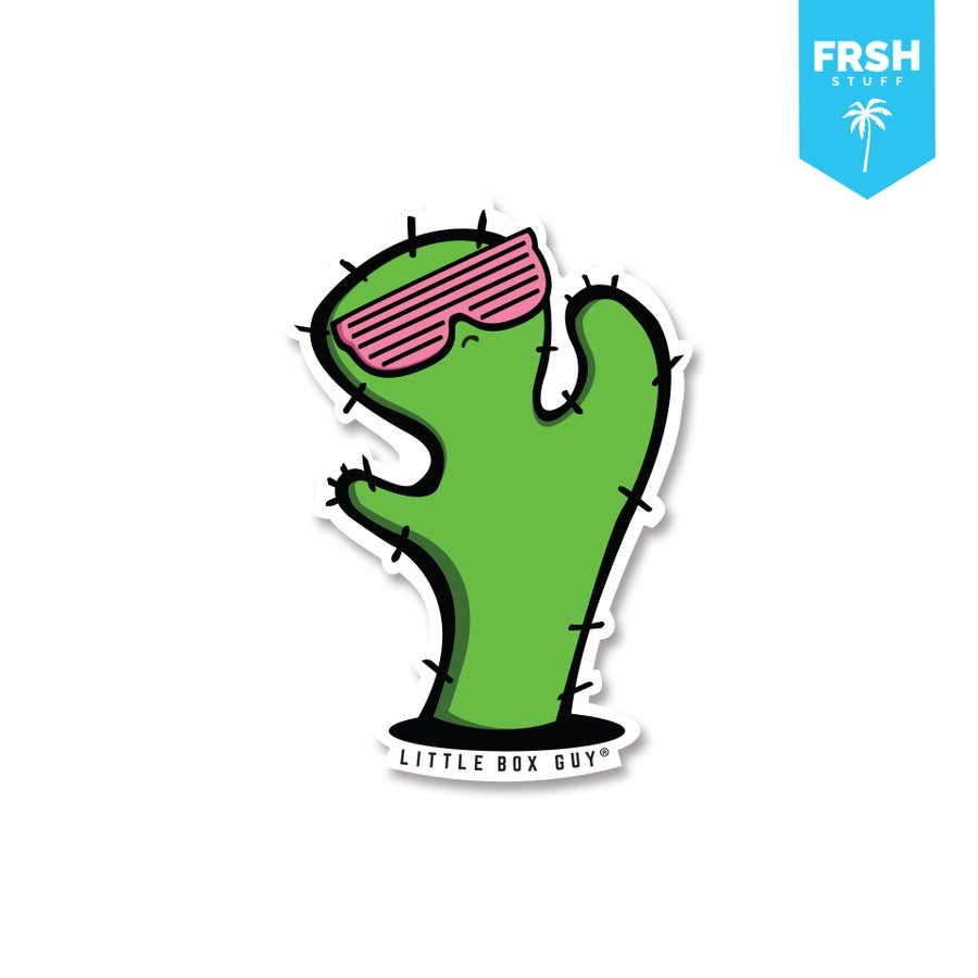 Image of Cactus (Die-cut sticker)