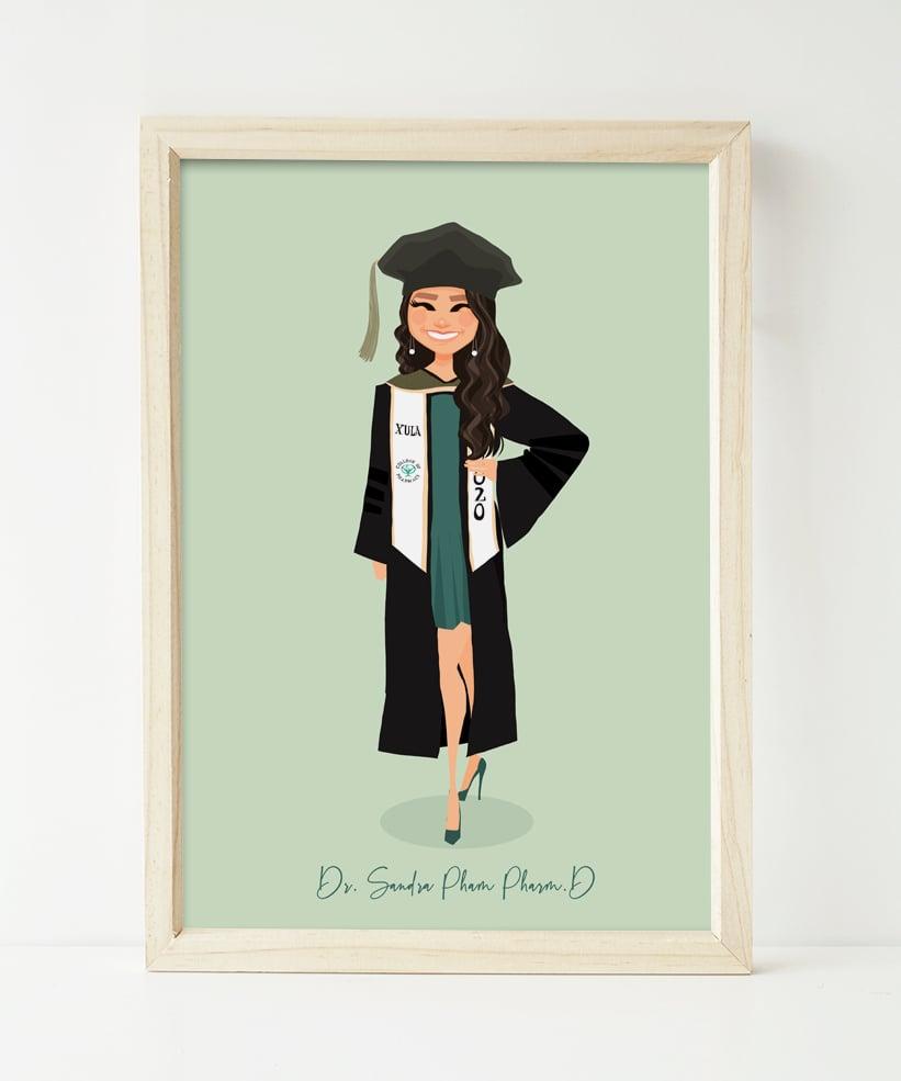 Image of Graduation portrait