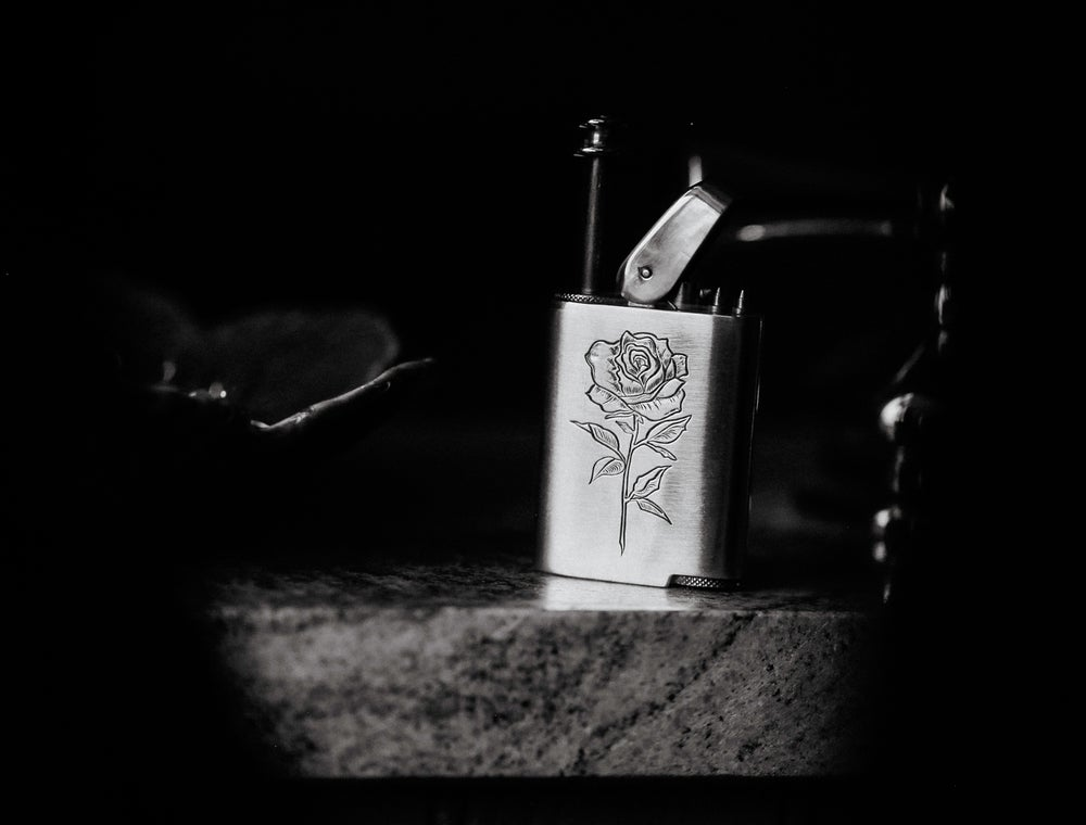 Image of Hand Engraved Perfume Atomizer