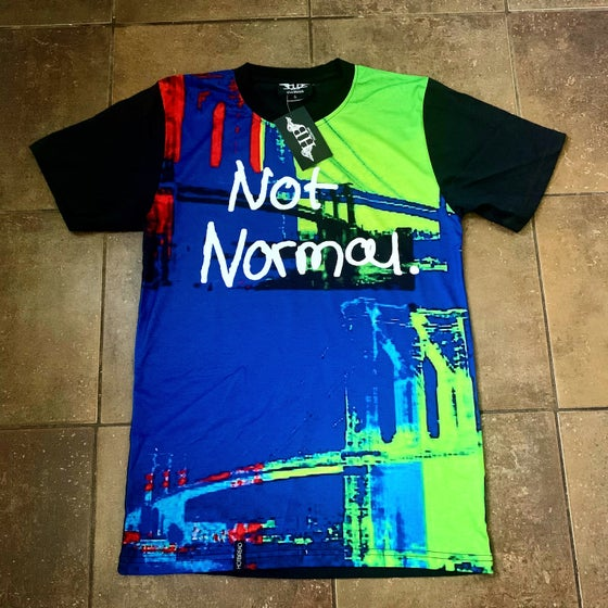 Image of Not Normal Warhol Bklyn. Bridge tee