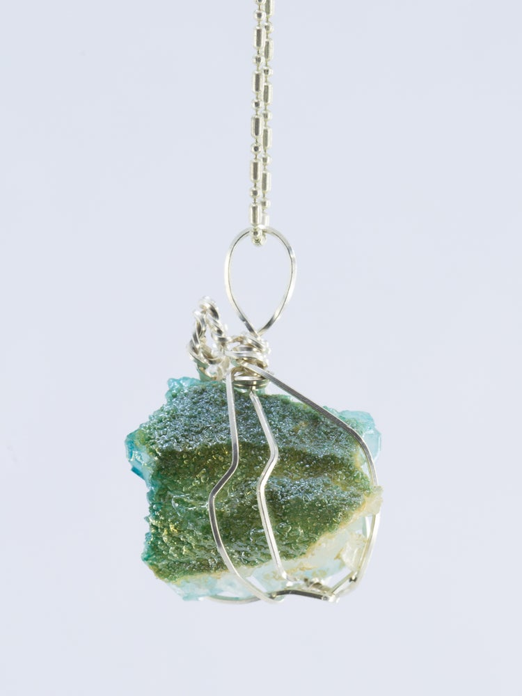 Image of Aura Quartz Drop Pendant