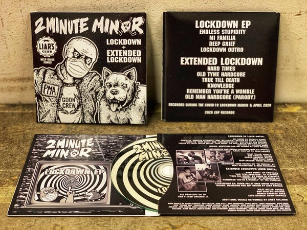 Image of Lockdown and Extended Lockdown EPs on CD
