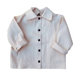 Image of Pippins - Denim jacket. Ecru.