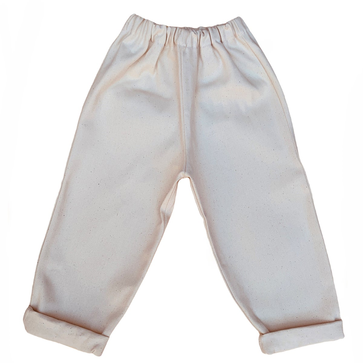 Image of Pippins - Toddler Jeans in Ecru