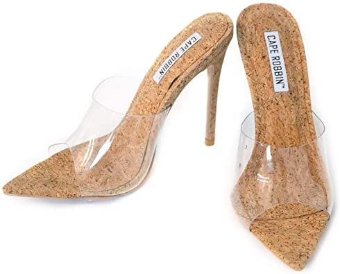 Image of Cinderella Cork Slippers