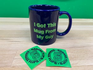 Image of Garage Flips Series 3 Mug and stickers