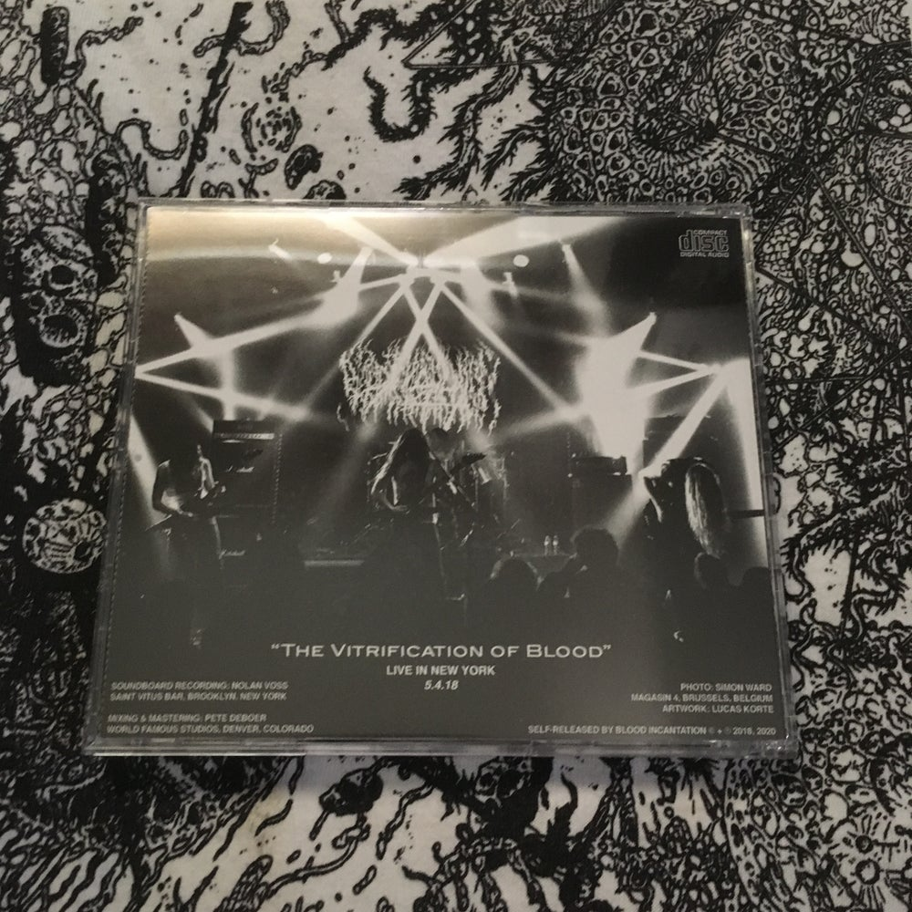 Image of Live Vitrification CD