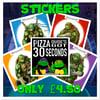 Turtles Sticker Pack
