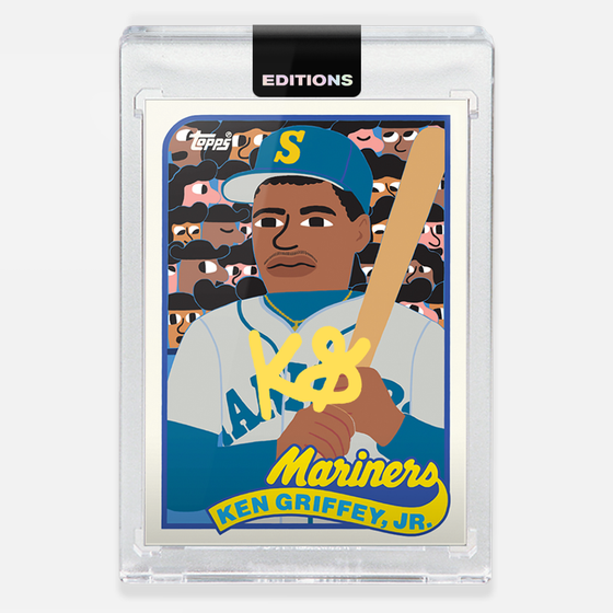 Image of 1989 Griffey Jr. 'Yellow'