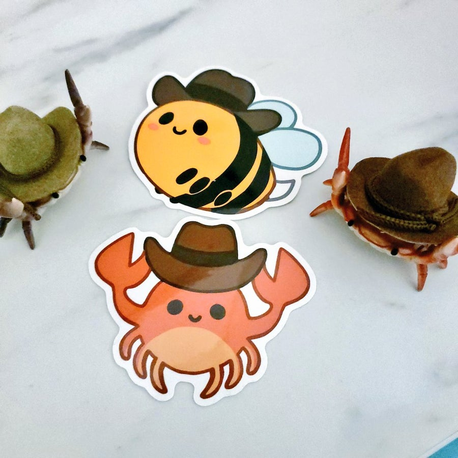 Image of Yeehaw series stickers
