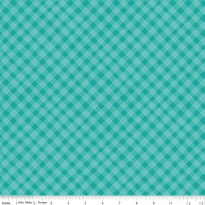 Image of Shades of Summer Teal Plaid