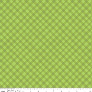 Image of Shades of Summer Green Plaid