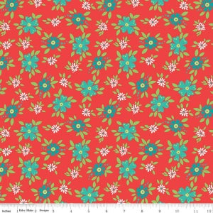 Image of Shades of Summer Red Floral