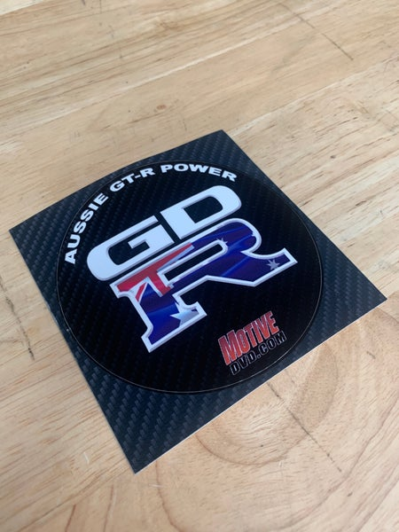Image of GD-R AUSSIE GT-R POWER STICKER