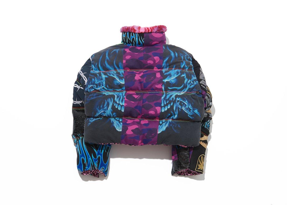 Customized Reversible Puffer Jacket