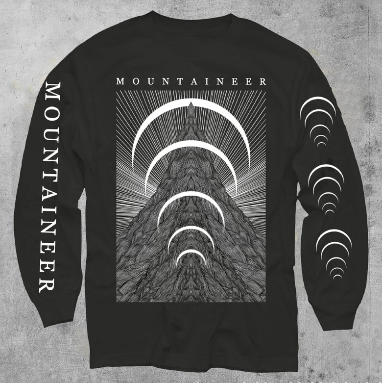 "Image of ""The Mountain"" Long Sleeve Tee"