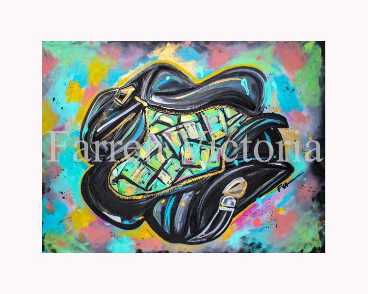 Image of Money Bag Art Print