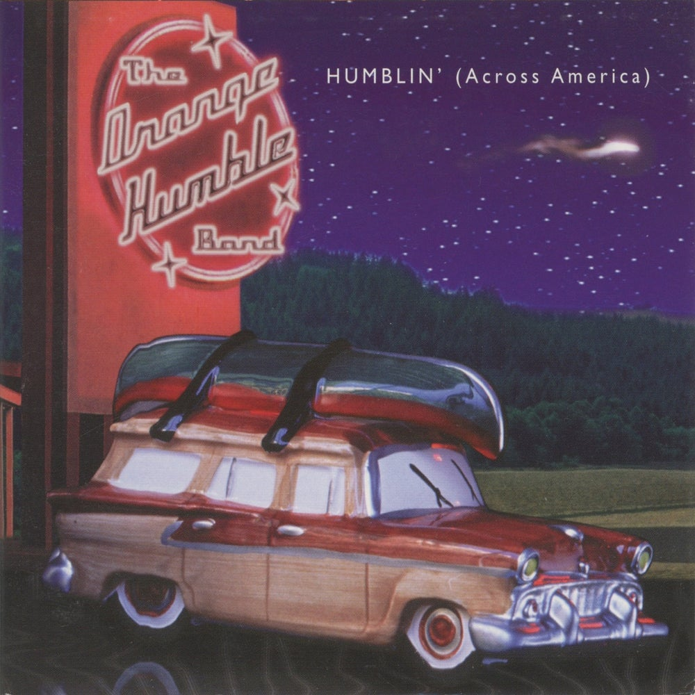 Image of THE ORANGE HUMBLE BAND: Humblin' (Across America)
