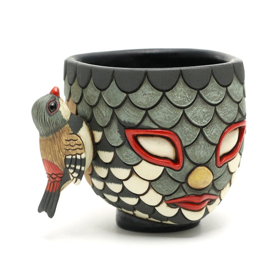 Image of Blend In Diamond Firetail Finch cup
